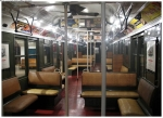Circa 1950's-60's subway car, [Courtesy Roxanne Spahn]
