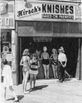 Brighton Beach, Hirsch's Kosher Knishes on the Boardwalk, 1965...[Courtesy WT&Sun, Library of Congress]