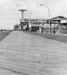 The Boardwalk, Coney Island, where else? 1964...[Courtesy WT&Sun, Library of Congress]