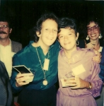 Ellen Taylor and Sheila Rothgart at the 1980 JMHS Reunion. [courtesy Ellen Taylor]